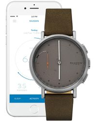 Skagen - Men's Signature Connected Hybrid Watch, 42mm - Lyst
