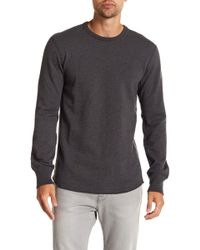 Reigning Champ - Scalloped Crew Neck Pullover - Lyst