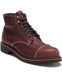 66772feee58 Wolverine Jensen Cap Toe Boot in Brown for Men - Lyst