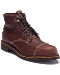 Wolverine Jensen Cap Toe Boot - Brown