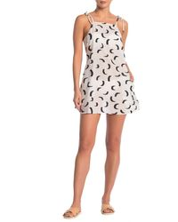 Onia Daphne Cover-up Dress - White