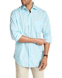Peter Millar - Holiday Stripe Button Down Shirt - Lyst