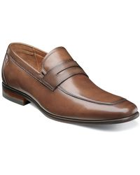 Florsheim Leather Penny Loafer - Brown