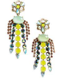 Loren Hope - Flora Chandalier Earrings - Lyst