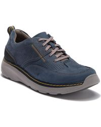 Clarks - Charton Mix Leather Sneaker - Lyst