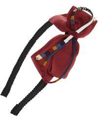 Cara - Multi Bow Headband - Lyst