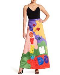 Alice + Olivia - Ursula Sequin Embellished Maxi Skirt - Lyst