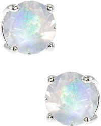 CZ by Kenneth Jay Lane - Luxe Cz Stud Earrings - Lyst