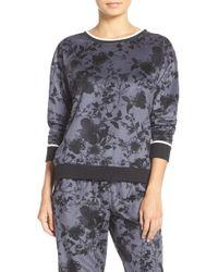 Kensie - Floral Print Pullover - Lyst