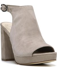Fergie - Carmyn Peep Toe Platform Heel - Lyst