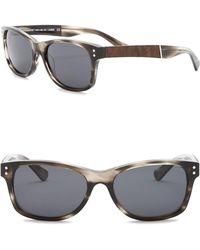 Shwood - Men's Cannon Polarized 54mm Square Sunglasses - Lyst