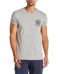 Reigning Champ - Crest Logo Short Sleeve Tee - Lyst