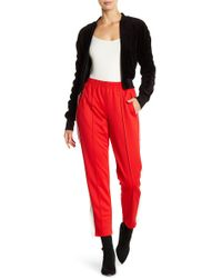 ARRIVE - Sporty Pleated Track Pants - Lyst