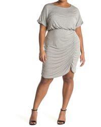 West Kei Knit Mini Dress - Gray