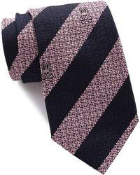 Psycho Bunny Silk Fancy Stripe Tie - Pink