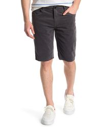 Ezekiel Bryce Slim Fit Corduroy Shorts - Black