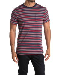 Vans Knollwood Stripe T-shirt - Multicolor