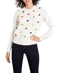 ModCloth Bobble Sweater - White