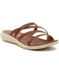 Merrell - Duskair Seaway Leather Sandal - Lyst