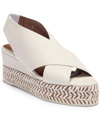 Aquatalia - Jaida Soft Nappa Wedge Platform Sandal - Lyst