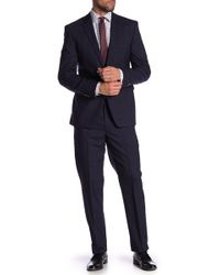 Vince Camuto - Plaid Slim Fit Wool 2-piece Suit - Lyst