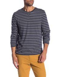 Tailor Vintage - Reversible Long Sleeve Crew Neck Shirt - Lyst