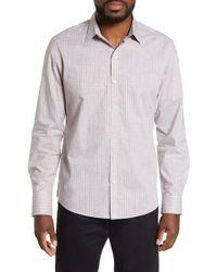 Zachary Prell - Mcangus Regular Fit Check Sport Shirt - Lyst