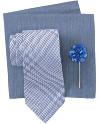 Nordstrom men/'s shop Navy Paisley pocket square $30