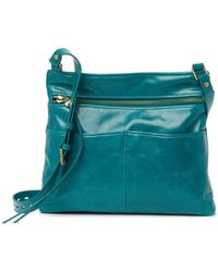 Hobo International Angler Leather Crossbody Bag - Blue