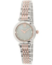 Bulova - Women's Classic Diamond Accented Watch - 0.060ctw, 25mm - Lyst