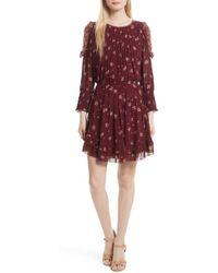 Joie - Arleth Cold Shoulder Silk Dress - Lyst