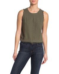 Thread & Supply Verona Linen Blend Shirt - Green
