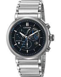 Citizen - Men's Proximity Eco-drive Analog Quartz Bracelet Watch, 46mm - Lyst