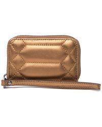 Aimee Kestenberg Zip-around Card Case - Metallic
