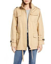 10 Crosby Derek Lam Cotton Field Jacket - Natural