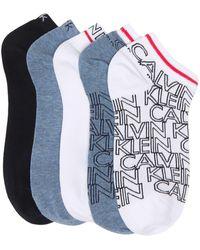 Calvin Klein Assorted Ankle Socks - Blue