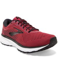 Brooks Ghost 12 Road Running Sneaker - Red