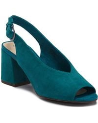 Seychelles - Playwright Slingback Suede Sandal - Lyst