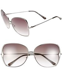 BCBGMAXAZRIA - Women's Metal Butterfly Sunglasses - Lyst