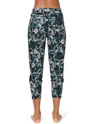 Sweaty Betty Garudasana Crop Yoga Pants - Multicolor