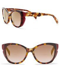 Just Cavalli - Modified Cat Eye 52mm Plastic Sunglasses - Lyst