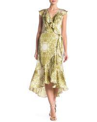 Max Studio - Wrap Dress - Lyst
