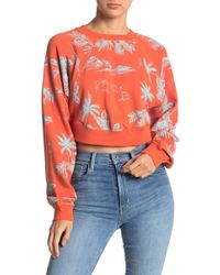 Free People - Poppy Floral Print Pullover - Lyst