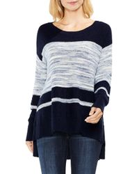 Two By Vince Camuto | Space Dye Stripe Jumper | Lyst