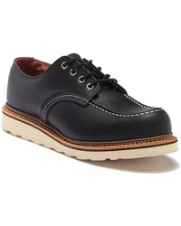 Red Wing - Moc Toe Leather Derby - Factory Second - Lyst