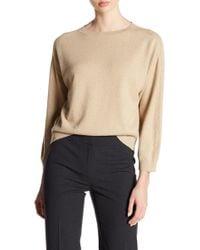 Lafayette 148 New York | Daisy Metallic Dolman Sweater | Lyst