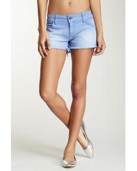 Siwy Camilla Cutoff Shorts - Blue