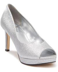 Bandolino Brayden Peep Toe Platform High Heel - Multicolour