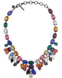 Loren Hope Tori Gem Statement Necklace - Multicolor