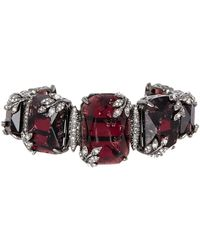 Jenny Packham - Crystal Expandable Cuff Bracelet - Lyst